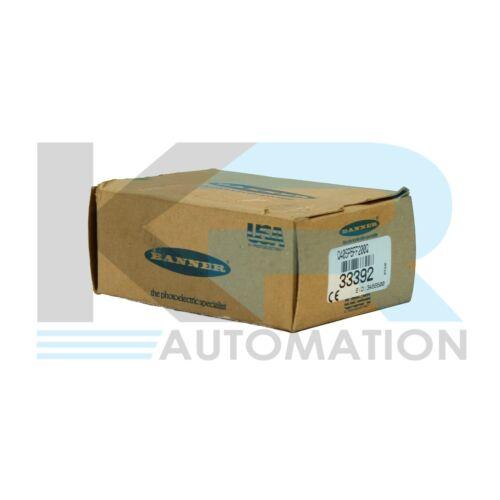 NEW Banner Q40SP6FF200Q Proximity Sensor 10-30VDC 150mA Max