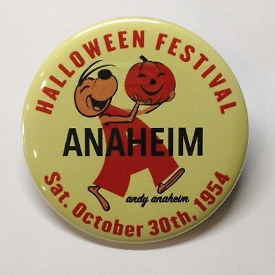 Halloween Festival Andy Anaheim Vintage Style Fridge Magnet Buy 1 Get 1 FREE - Halloween Buy