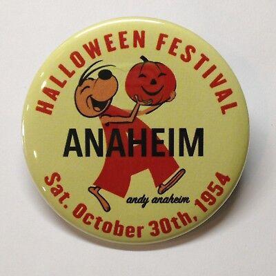 Halloween Festival Andy Anaheim Vintage Style Fridge Magnet Buy 1 Get 1 FREE