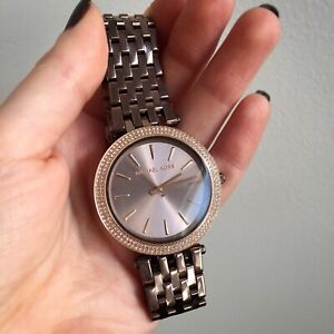 Michael Kors Darci bronze watch