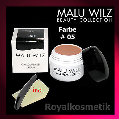 MALU WILZ Camouflage Cream Nr. 05 (5)  6g  ( GP 208,33 € / 100g )