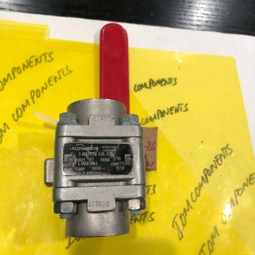 FLOWSERVE WORCESTER CONTROL 1466YVSW V36 R21 VALVE 180F MAX TEMP