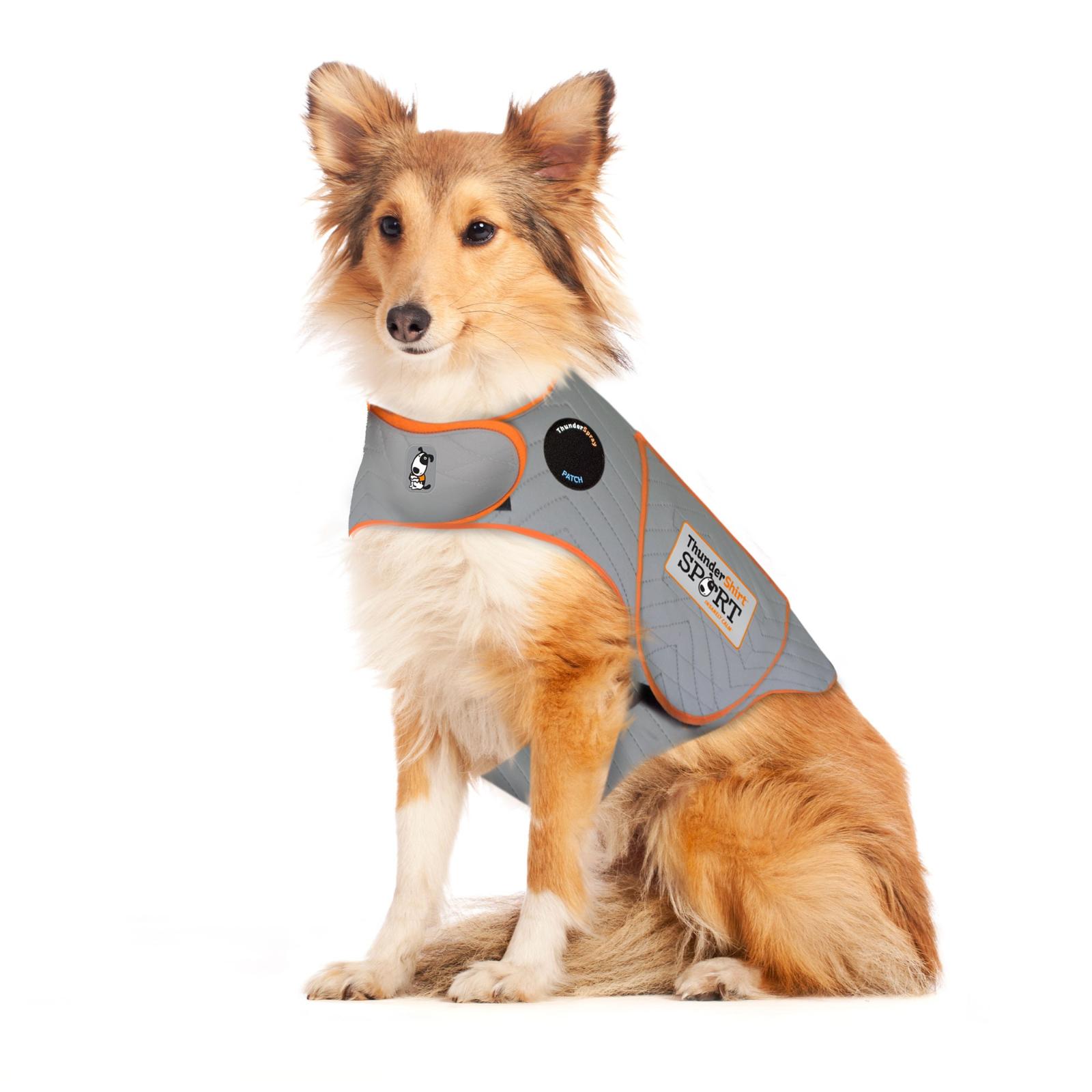 Thundershirt Sport Dog Anxiety Treatment  Grey Size XL Extra Large