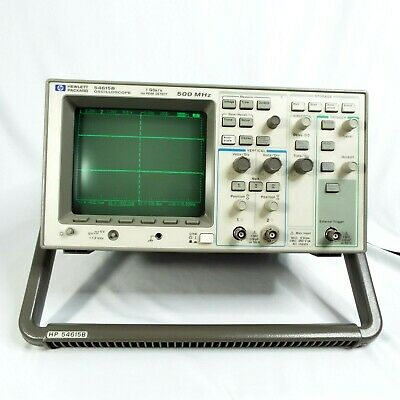 Agilent Hp 54615b - 500mhz Oscilloscope 2 Channel