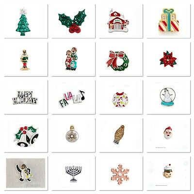 Authentic Origami Owl Charms HANUKKAH CHRISTMAS WINTER Combined Shipping ()