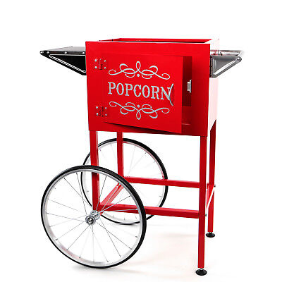 Paramount Popcorn Machine Cart Trolley Section - Red