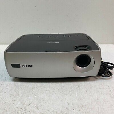 ~~InFocus~IN24+ W240~SVGA Portable Projector Tested and Working 1100 Lamp Hours