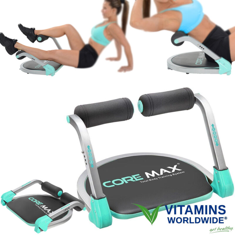 ABS MACHINE EXERCISE Ab Core Trainer Workout Home Gym Fitness Training Equipment