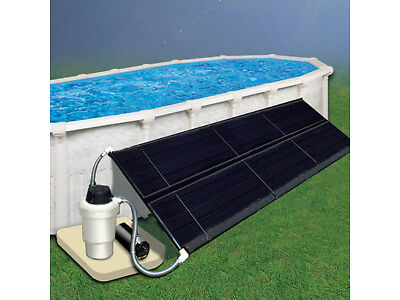 Above Ground Pool Solar Heating System 4' x 20' (Two 2x20)