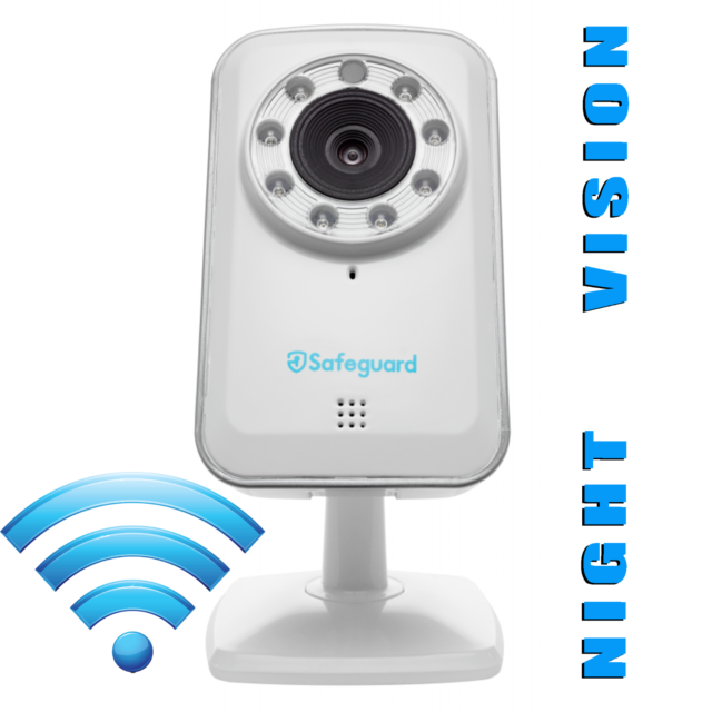 Kitvision Safeguard Day Night Wireless Internet Security Camera Two Way Audio