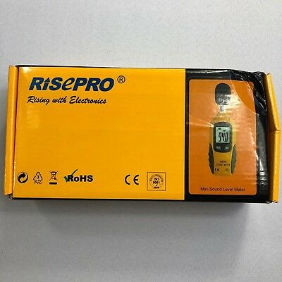 Risepro Mini Sound Level Meter 30-130 Db Bj