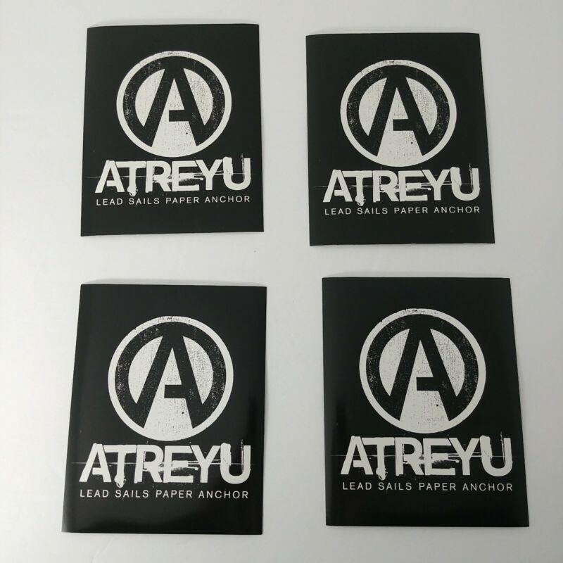 BUNDLE LOT OF 4pcs Atreyu LeadSailsPaperAnchor Bull Music 4x5 Sticker