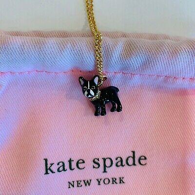 Kate Spade New York, Antoine Dog Pendant Necklace