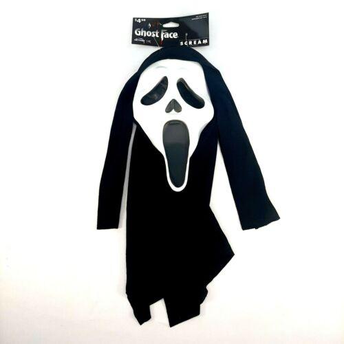 Fun World Ghost Face Scream Mask Halloween Costume 2020 Edition Horror Movie New