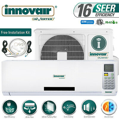 36000 BTU Mini Split Air Conditioner Heat Pump Ductless 230V INNOVAIR 16 SEER
