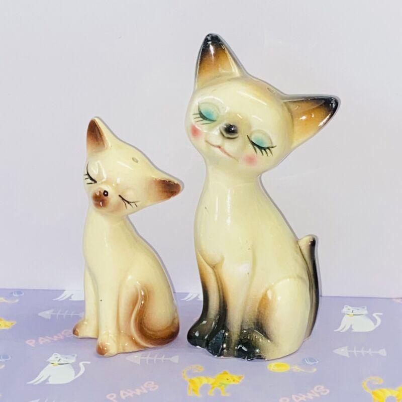 Siamese Kitty Cat Salt & Pepper Shakers