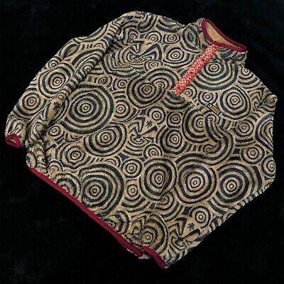 Kapital Snap Maze Print Light Fleece Pullover Size 3 (Medium)