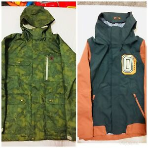 Mens snow jackets - Oakley and DC
