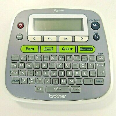 Brother P-touch Label Maker Pt-d200 Working Tested Label Thermal Printer