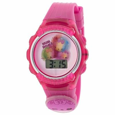 Num Noms LCD Kid's Watch w/ Flashing Icon & Light Up Dial New