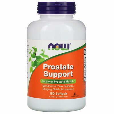 Now Foods Prostate Support 180 Softgels GMP Quality Assured
