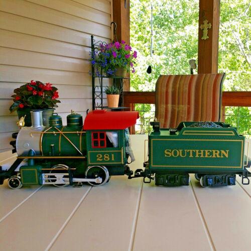 LGB 21232 Southern G-Scale Big Train 2-4-0 Locomotive #281 & Tender w/Box NEW