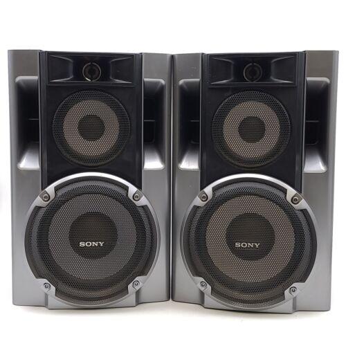 Sony SS-EC70 Stereo Bookshelf Bi-Amp 3-Way 13x9 Speakers - P