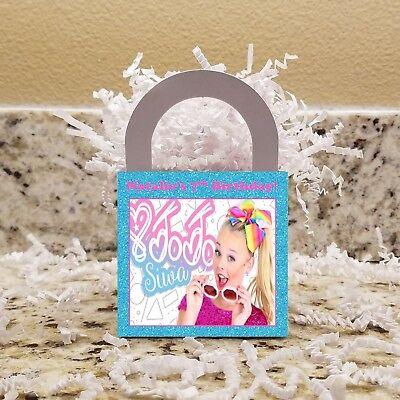 Candy Tables (12 Jojo Siwa Candy Boxes, Jojo Siwa Favor Boxes, Jojo Siwa Candy)