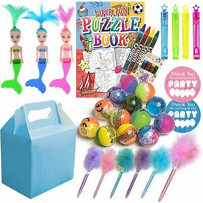 Pre Filled Girls Return Gifts Birthday Sleepover Party Boxes Fillers Favors Kids - Birthday Return Gifts