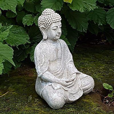 Thai Buddha Deko Figur Feng Shui Skulptur Buddha Statue Buddhismus Budda Glück