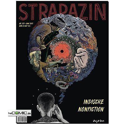Strapazin 127 COMIC Illustration Zeitschrift Indische Nonfiction Kreativität