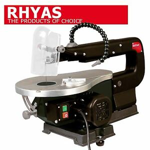 Rhyas Scroll Fret Saw Craft Bandsaw Table 90W 90° & 45° Mitre + 10 FREE Blades