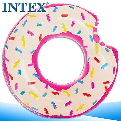Intex Flotador Donut Tubo Colchoneta Piscina Mar See Vinilo Juguete para el...