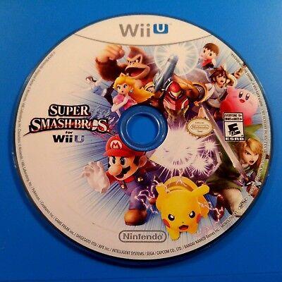 Super Smash Bros. (Nintendo Wii U, 2014) DISC ONLY 6167