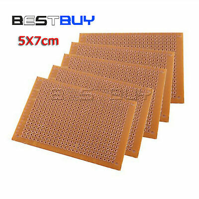 10pcs Diy Prototype Paper Pcb 5x7cm Universal Board Circuit Board New Bbc