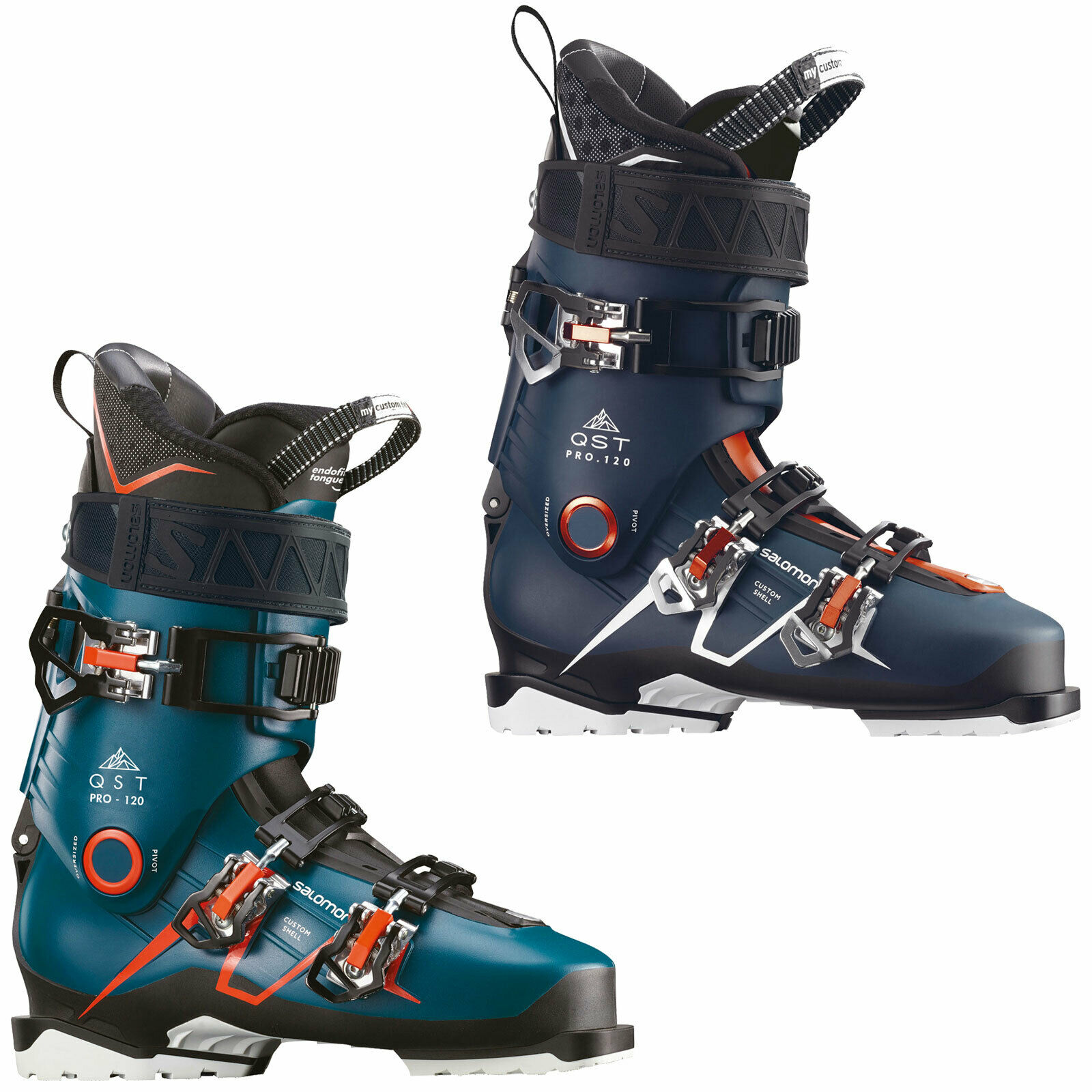 Salomon Qst pro 120 Men's Ski Boots Shoes Skiboot all Mountain Piste New