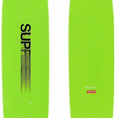 Supreme Motion Logo Cruiser Skateboard Deck Lime!! IN HAND!! Immediate Shipping!