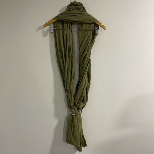 Maya Wrap Ring Sling Olive Green Baby Carrier M Built in Pocket