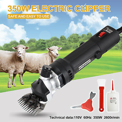 Electric Shears Farm Animal Clippers 350w Shave Grooming Goat Sheep Livestock