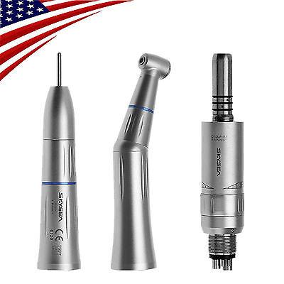 Dental Slow Low Speed Push Type Handpieces Kit Inner Water Spray Fit Kavo 4h Tc0