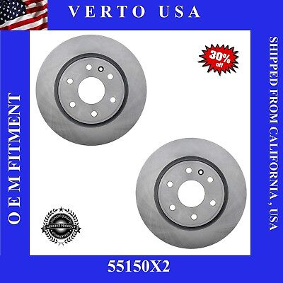 Front Brake Rotors For Buick Enclave 2008-2009-2010-2011-2012-2013-2014 to 2017