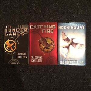 The Hunger Games trilogy by Suzanne Collins for sale