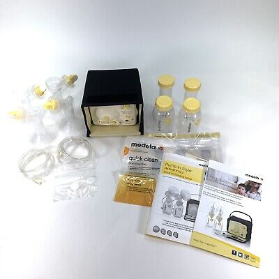 Medela-Pump-In-Style-Advanced Double Breast Pump w/ Accessories
