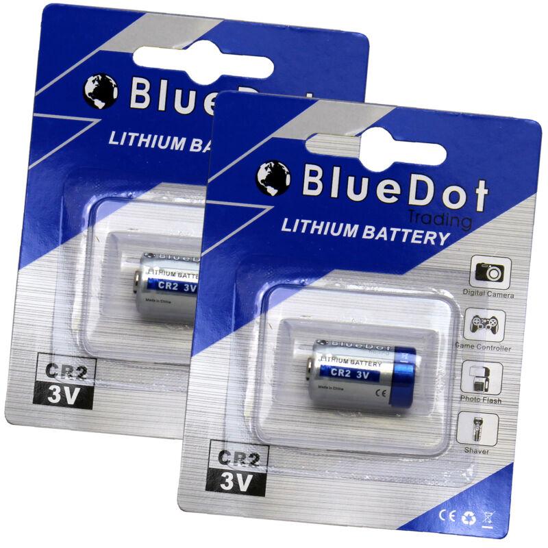 2 x CR2 Universal 3V 750mAh Lithium TITAN Battery for Digital Camera FREE SHIP