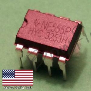 (10 Pack) NE555P - Timer - DIP-8 NE555 - USA Seller - Free Shipping!!!