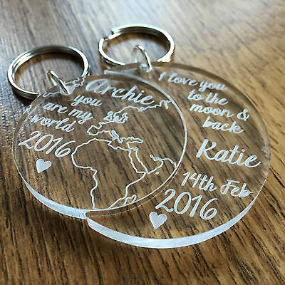 Personalised Valentines Day Gifts For Him Her Husband Boyfriend Presents Gifts ()