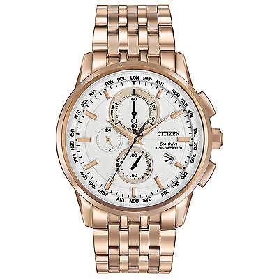 $179.99 - Citizen Eco-Drive Men AT8113-55A World Chronograph A-T Perpetual Calendar Watch