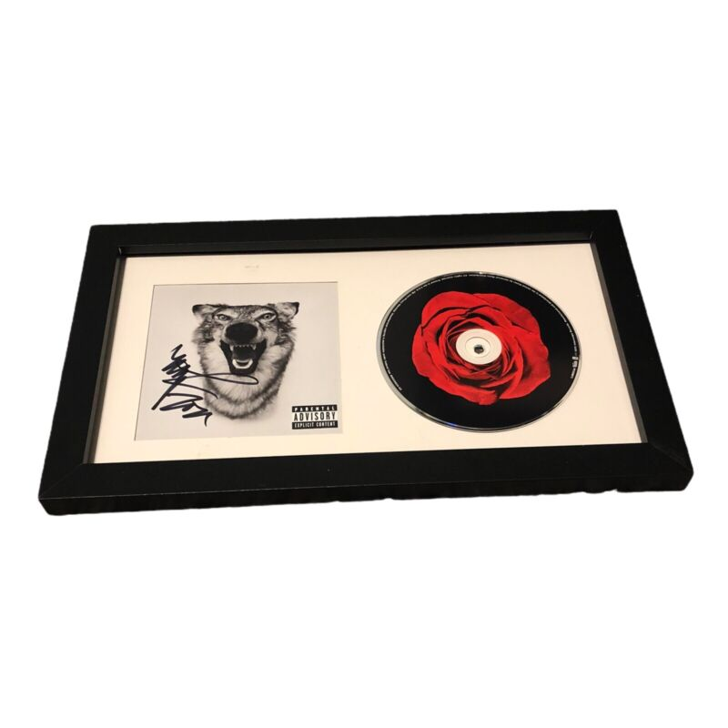YELAWOLF SIGNED AUTOGRAPH LOVE STORY FRAMED & MATTED CD DISPLAY COA MICHAEL ATHA