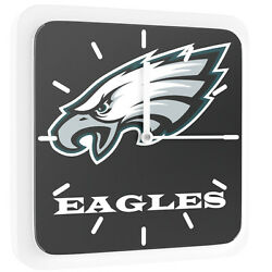 New 3 in 1 NFL Philadelphia Eagles Home Office Decor Wall Desk Magnet Clock 6