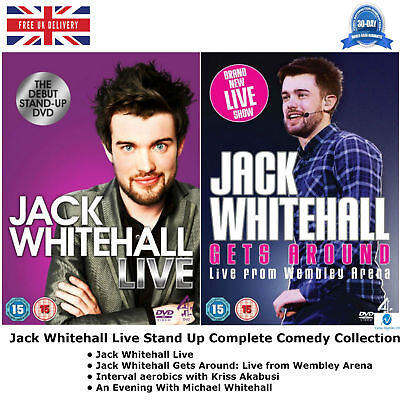 Jack Whitehall Live - Complete Stand Up Comedy Channel 4 Complete DVD Collection for sale  Shipping to Ireland